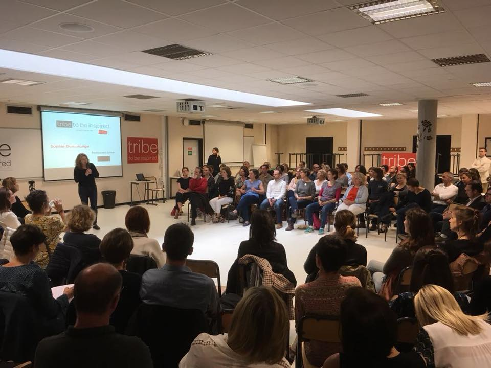ESDES-INTERGENERATIONS invitée par tribe to be inspired Lyon pour son action innovante