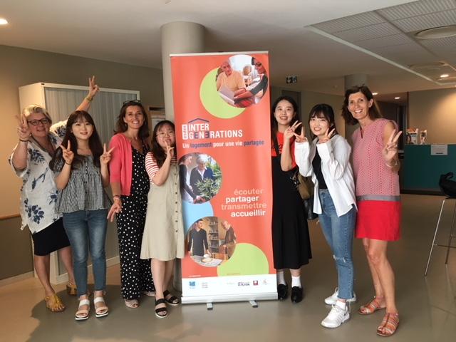 Visite d'une délégation coréenne sur le thème de l'aide sociale pour les personnes âgées