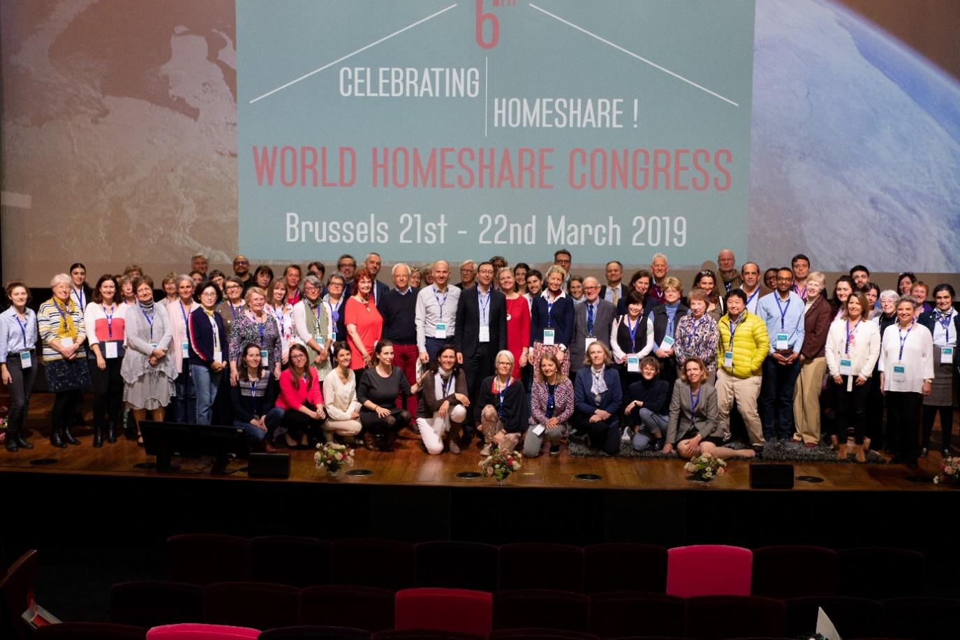 ESDES-INTER GENERATIONS présent au  6e Congrès international d'Habitats partagés à Bruxelles
