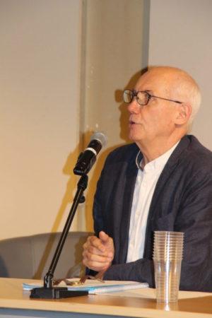 En image conférence inédite de François Boursier, historien enseignant à l'UCLy pour Tim & Colette